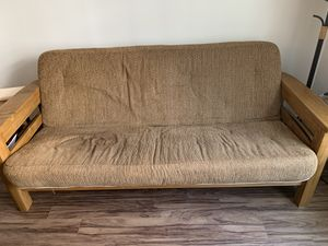 Futon, chair, and ottoman set for Sale in Charlotte, NC