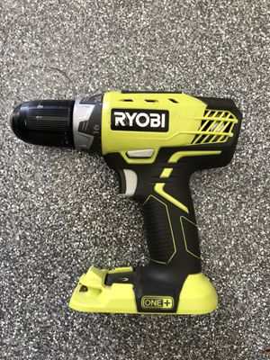 Ryobi 18v drill driver and 2 chargers for Sale in Encinitas, CA