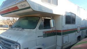 1976 tioga spirtsman motorhome clean no broken windows new tires for Sale in Oro Grande, CA