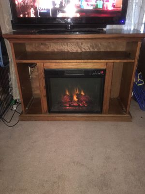 Fireplace TV stand for Sale in Washington, DC