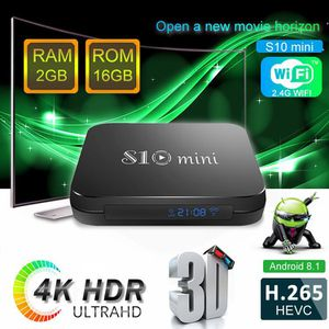 S10 Fastest Android 4K Tv and Movie Box With Smart Wireless AirMouse Keyboard. for Sale in Fort Lauderdale, FL