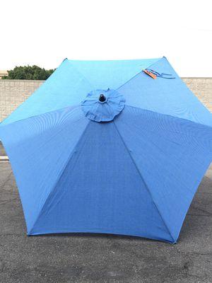 9 ft. Aluminum Market Tilt Patio Umbrella in Periwinkle for Sale in Tempe, AZ