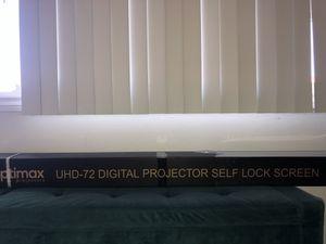 Projector, Projector screen for Sale in Garden Grove, CA