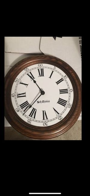 Seth Thomas Antique Wall Clock for Sale in Fairview Park, OH