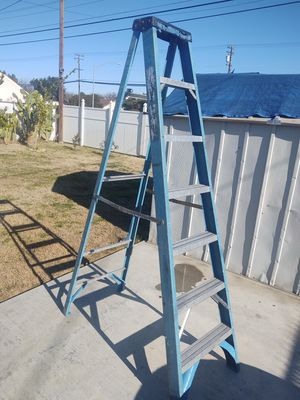 Ladder 6 foot in good condition firm$$ or don't text me for Sale in Modesto, CA