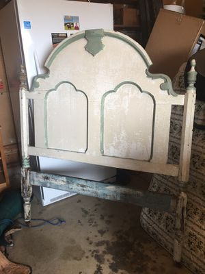 Antique wooden headboard for Sale in Purcellville, VA