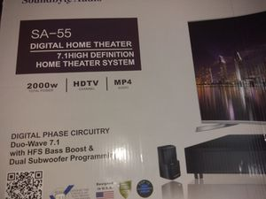 Soundbyte audio SA-55 Digital Home Theater for Sale in Durham, NC