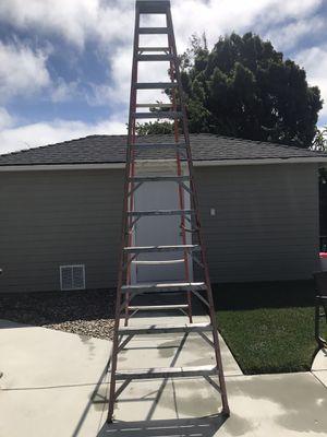 12 foot Werner fiberglass ladder for Sale in Richmond, CA