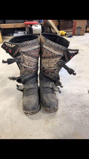 Fly dirt bike boots for Sale in Davisville, WV
