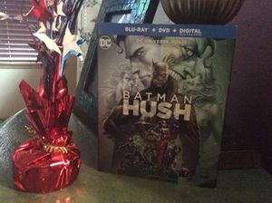 Batman Hush BLU RAY! Opened but perfect condition. BLU RAY ONLY! for Sale in Fircrest, WA