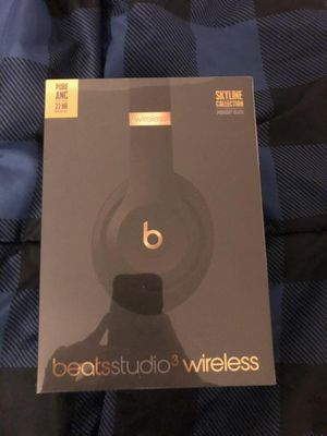 Midnight black beats studio 3 wireless headphones for Sale in Chula Vista, CA