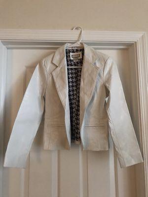 Women's Blazer (leather) for Sale in Charlottesville, VA