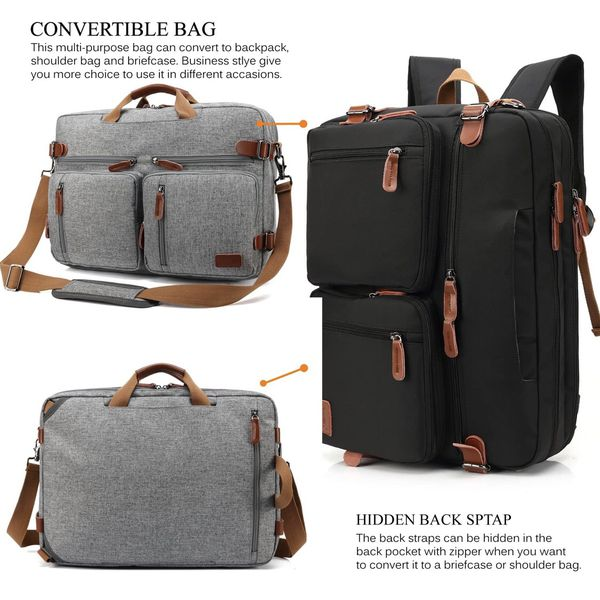 """Laptop Bag - For 15"""" - Shoulder x Backpack"""
