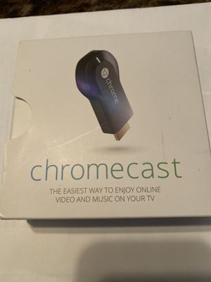 Chromecast first edition New (open box) for Sale in Alameda, CA