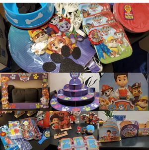 Paw Patrol Birthday Pack for Sale in Chula Vista, CA