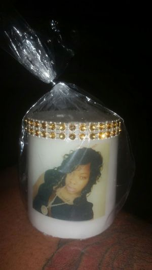 Candles with your picture put on it for Sale in Buffalo, NY