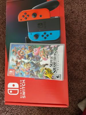 Nintendo Switch Smash Bros bundle for Sale in Inglewood, CA
