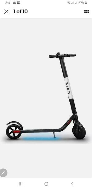 Electric Scooter For s, 300W, 15.5 MPH, Lightweight, for Sale in Redlands, CA