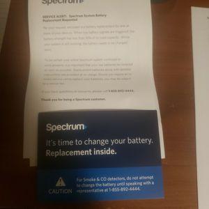 Free Battery For Spectrum Sensor for Sale in Lynwood, CA