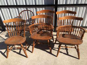 Set of six maple Nichols & stone for Sale in Dallas, TX