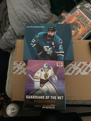 Sharks bobble heads for Sale in San Jose, CA