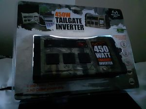 450W Tailgate Inverter Realtree 400W is $50 Deal here for Sale in Westerville, OH