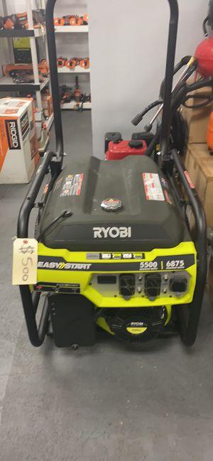 Ryobi Gas 5500 Watts Generator for Sale in Corona, CA