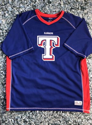 157dc327be7 Men's Dynasty Texas Rangers Baseball Jersey Size L for Sale in Irving, TX