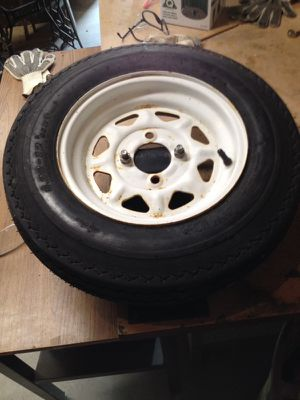 Trailer tire. for Sale in Irons, MI