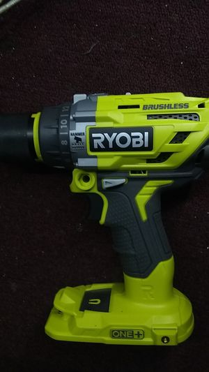 Ryobi brushless hammer drill (new)$60 for Sale in Cleveland, OH