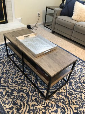 Living room table set—three pieces for Sale in Arlington, VA