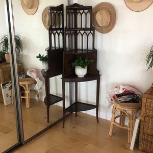 antique corner shelf for Sale in CA, US