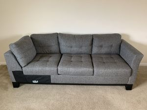Grey Tweed Couch for Sale in San Marcos, CA