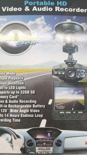 Portable HD Video and Audio Recorder.. DashCam Pro for Sale in Dallas, TX