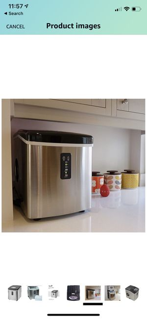 TG22 Counter Top ice maker... produces 26lbs of ice in 24 hours. Ice ready in 6 min and Works great! $80 for Sale in Dana Point, CA