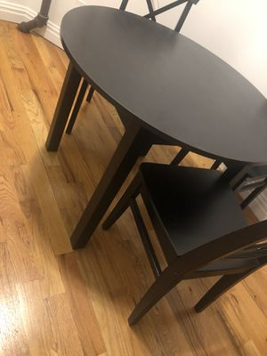 Ikea Kitchen Table with 4 chairs for Sale in New York, NY