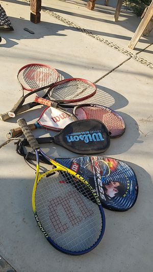 Wilson tennis rackets for Sale in Canyon Lake, CA