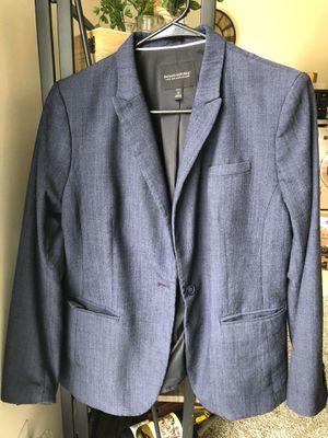 Denim colored Banana Republic blazer, size 12P for Sale in Alexandria, VA