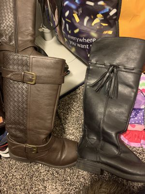 Girls size 2 boots for Sale in Portland, OR