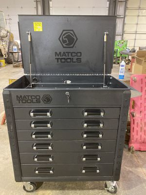 Matco Heavy-Duty Service Cart (Silver Vein) for Sale in Abilene, TX
