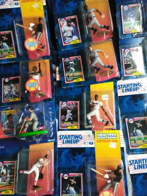Starting Lineup action figures.... for Sale in Seattle, WA