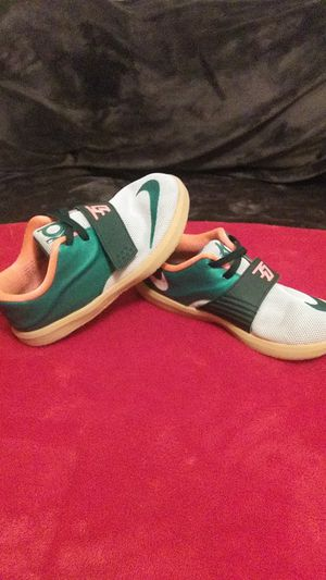 Nike KD VII shoes size 10c Mystic Green for Sale in Sanger, CA