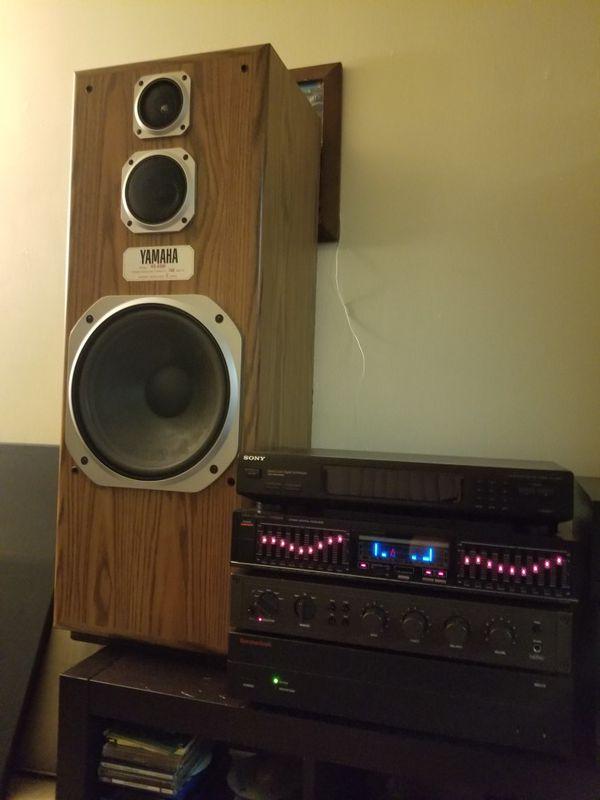 Yamaha NS A500 3 way Loudspeakers.