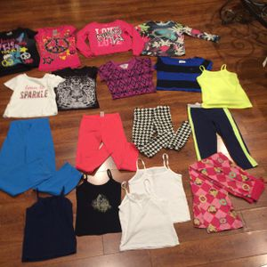 24+ Pieces Girls Kids Various Clothing 6-8T for Sale in Los Angeles, CA