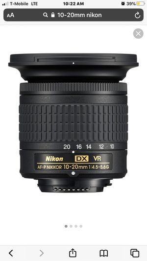 10-20mm Nikon Lense for Sale in FL, US