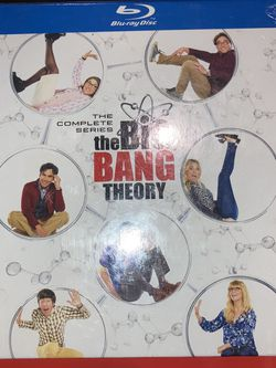 Brand New Factory Sealed The Big Bang Theory The Complete Series (BLURAY) 120 Or Best Offer for Sale in Ontario,  CA