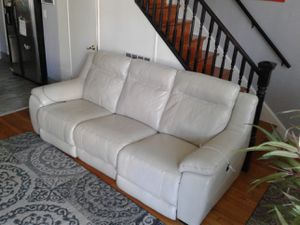 New leather sofa for Sale in Arlington, VA