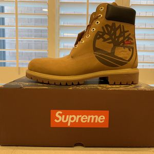 """Authentic Brand New Timberland 6"""" Supreme Wheat Size 9.5 Deadstock for Sale in Las Vegas, NV"""