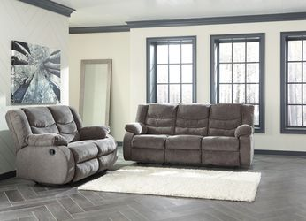 NEW, Reclining Sofa and Loveseat, Gray, SKU# 98606 for Sale in Huntington Beach,  CA