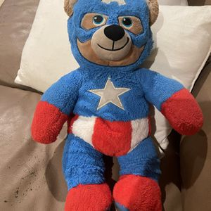 Build The Bear Captain America Used for Sale in Buena Park, CA
